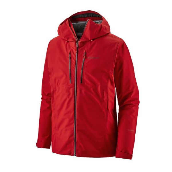 Men's Patagonia Triolet Jacket Fire Red